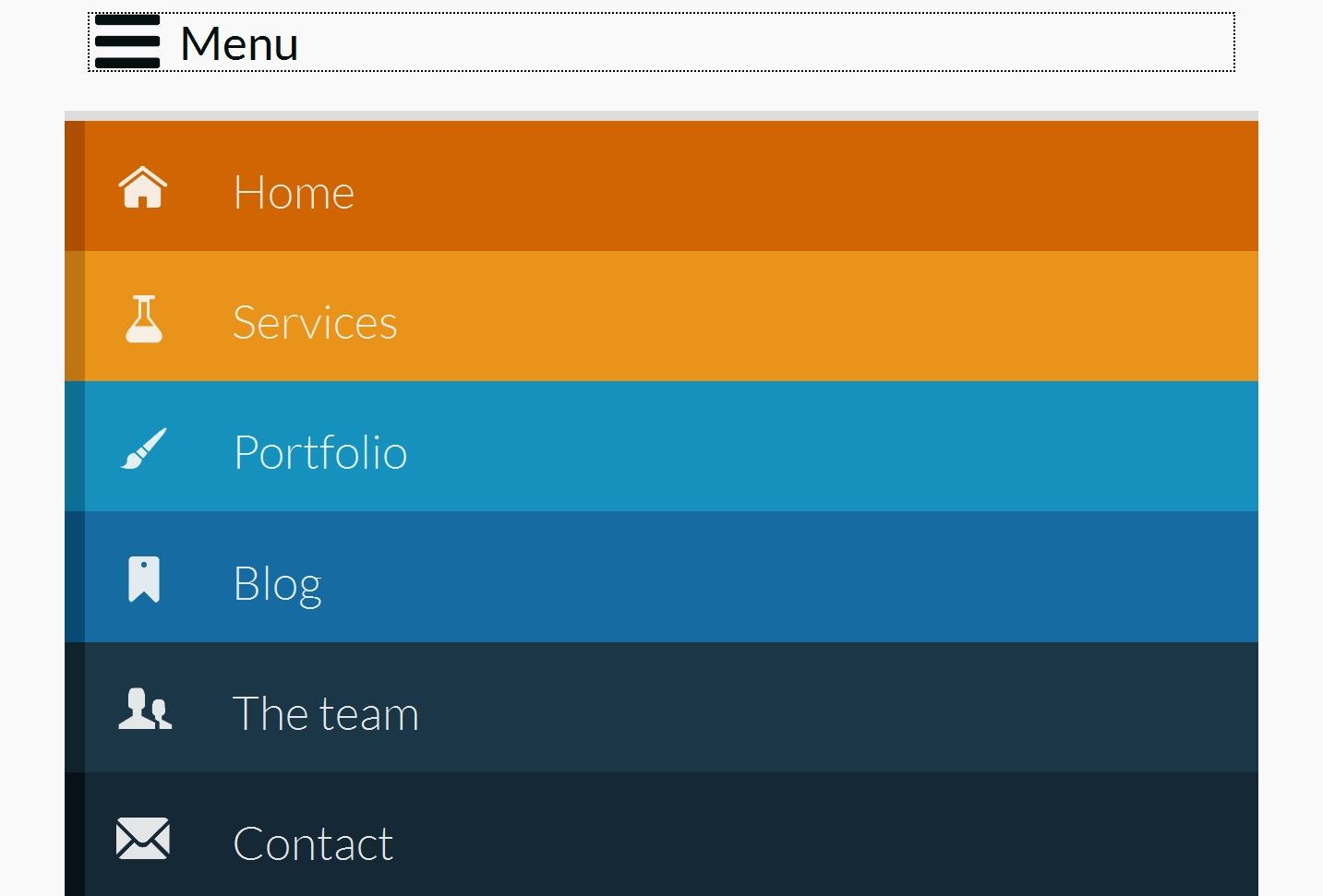 20+ Responsive Navigation Solutions (Examples & Codes