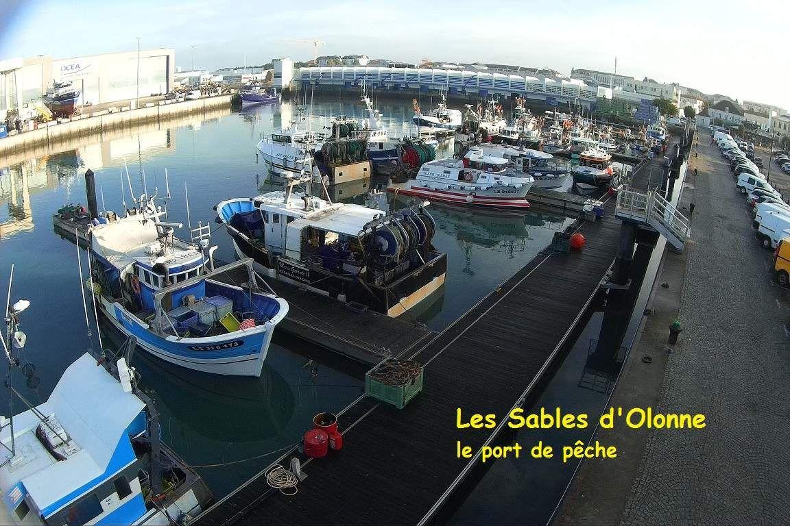 Le Port De Peche Des Sables D Olonne Vu De Haut Les Sables D
