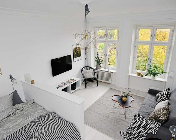 Amazing One Room Apartments That You Will Have To See Wohnung