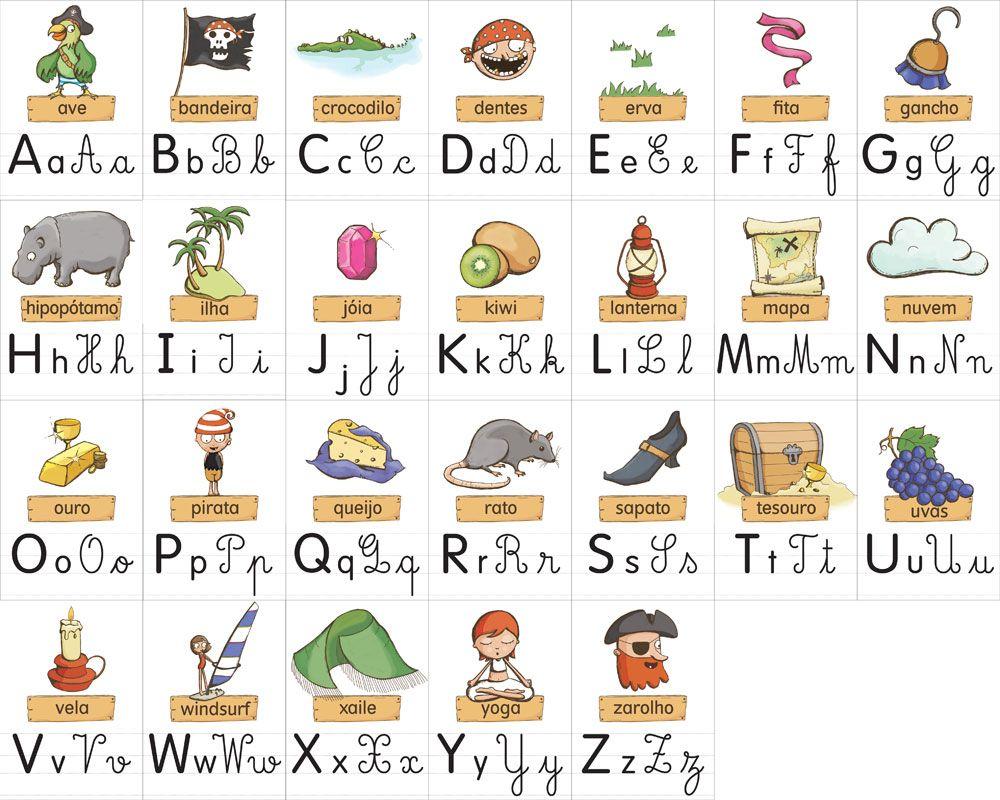 pirates alphabet