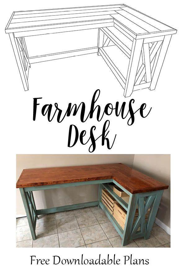 43++ Farmhouse craft desk most popular