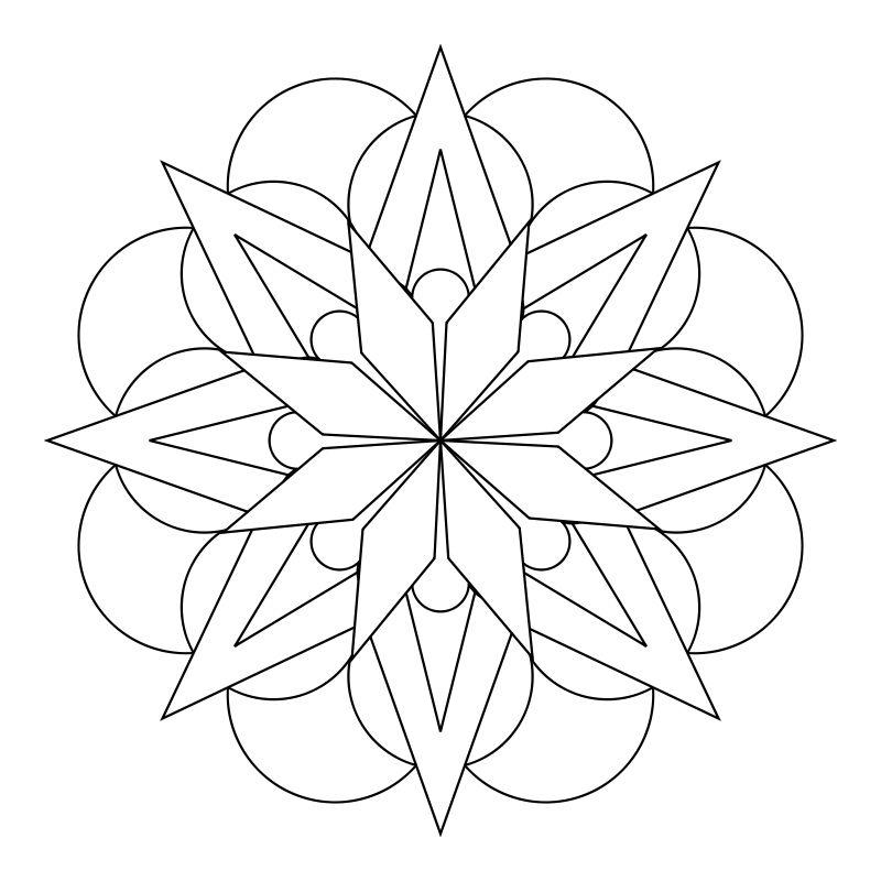 Mandala Designs Flower