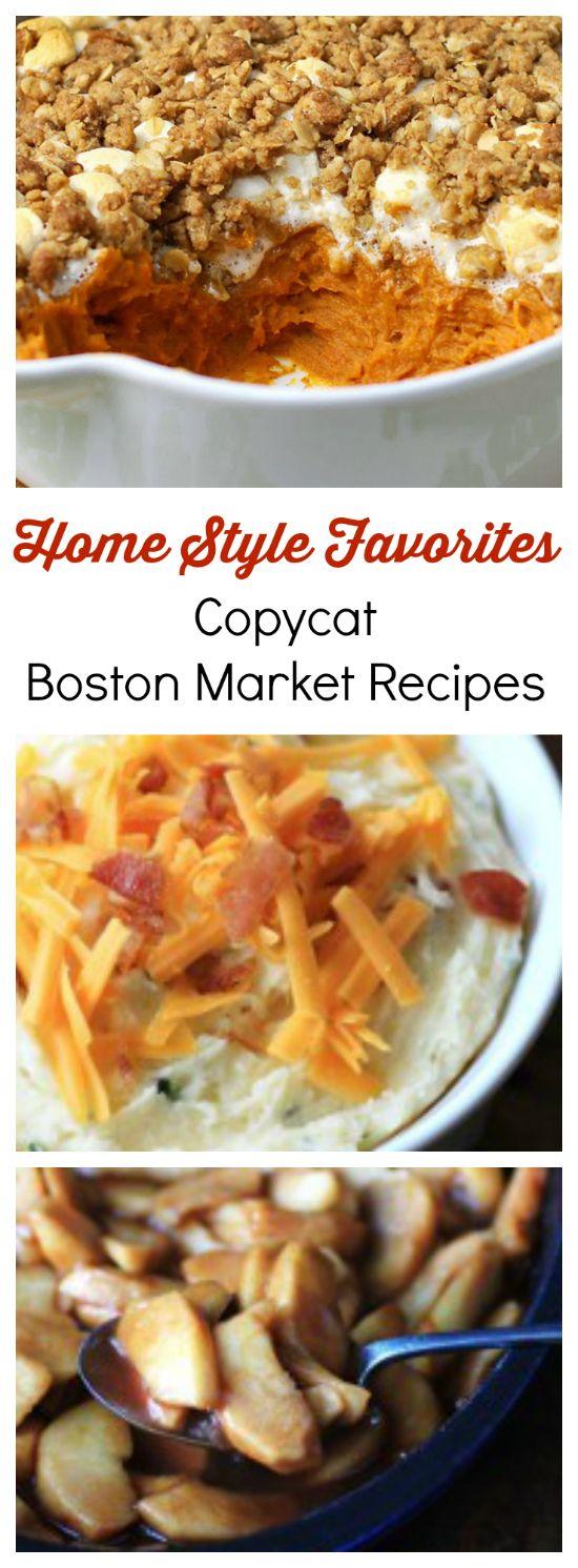 Home Style Restaurant Favorites 6 Copycat Boston Market
