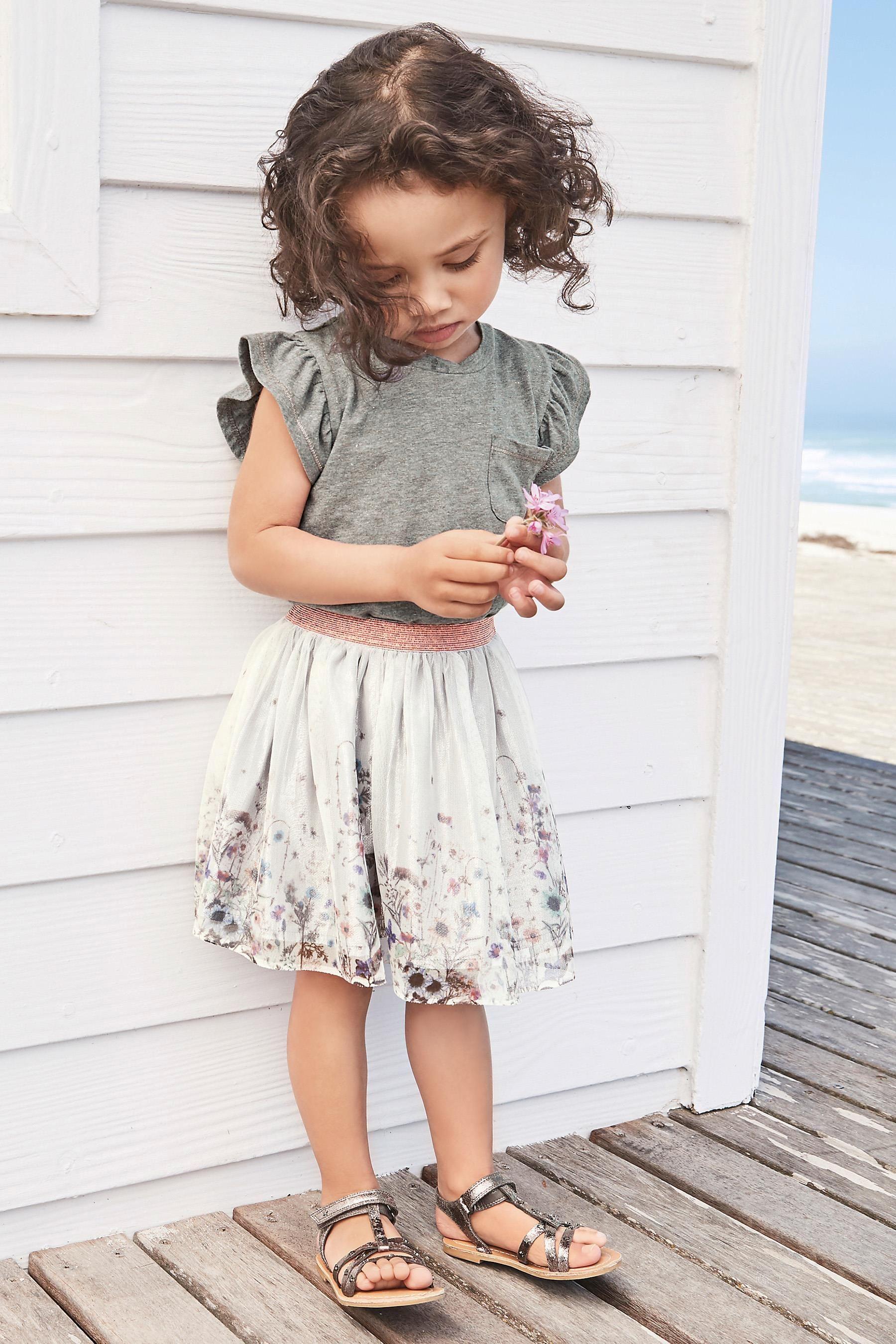 Grey Dress (3mths-6yrs) | Next USA