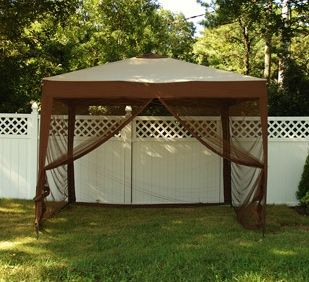Buy Deluxe Pop Up Gazebo Canopy W Mosquito Net Amp Carry Bag Patio Gazebo Gazebo Canopy Backyard Canopy