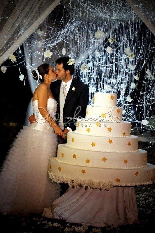 Gold and white per un matrimonio incantato dalle atmosfere orientali