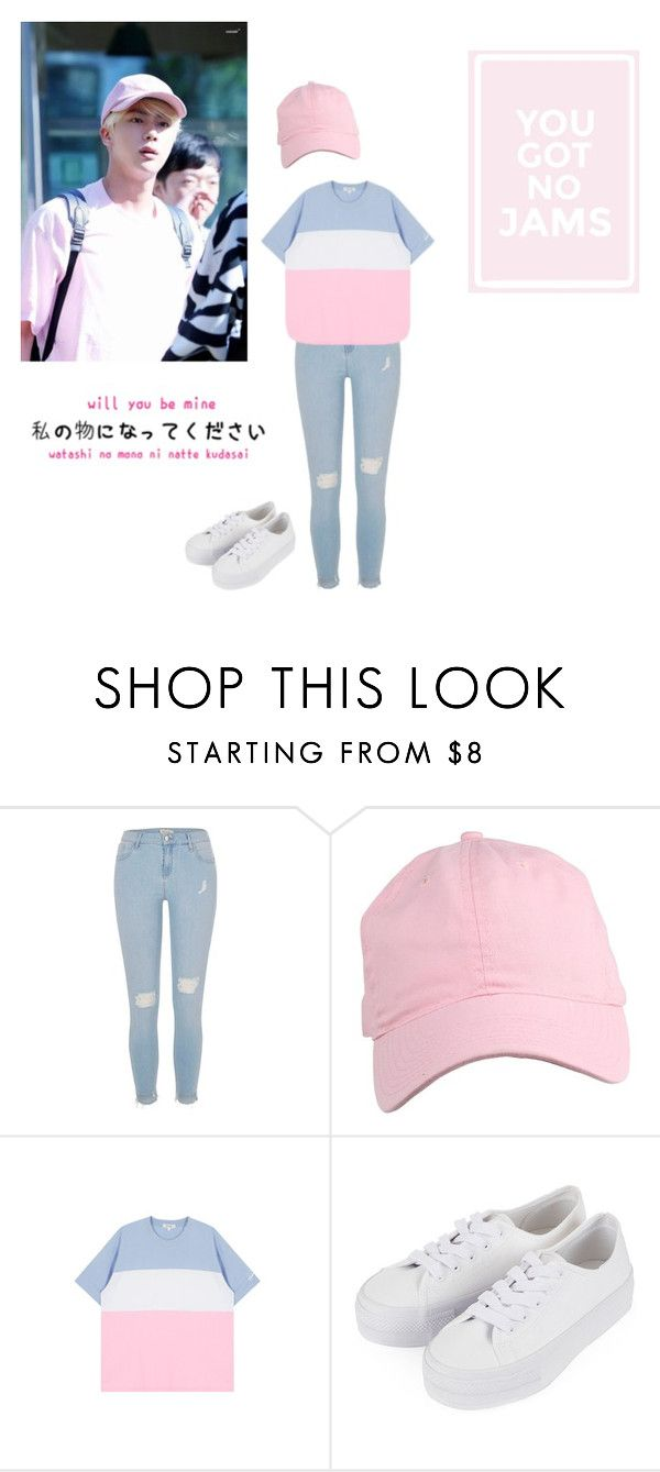 """""""Untitled #53"""" by spisaknoemi ❤ liked on Polyvore featuring River Island, Topshop and GET LOST"""