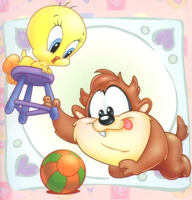 Baby looney toons disney gifs  LOONEY TUNES  Pinterest  Looney