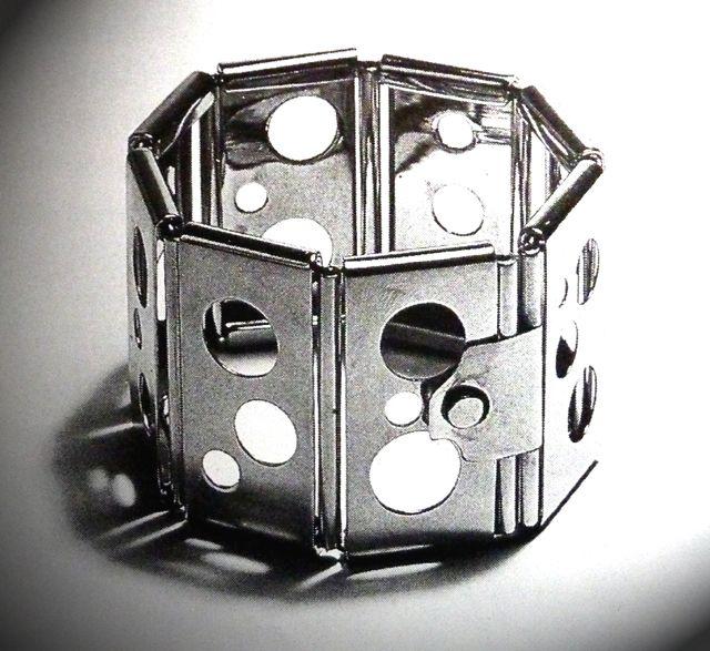 Naum+Slutzky+Armreif 1931 Bauhaus, Art deco, Metal jewelry
