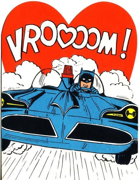 1966 Hallmark Batman Valentines Day Cards – Batman Valentines Day Card