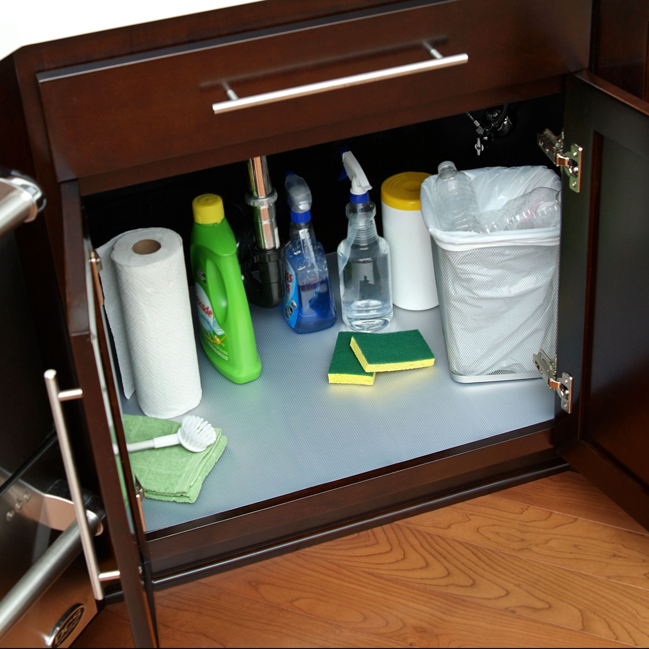Keep under sink spaces clean and protected with the waterproof Under ...