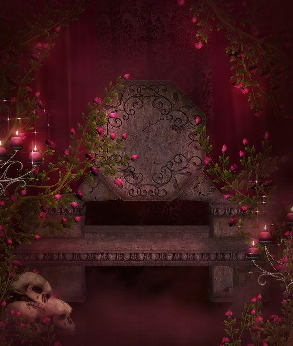 Gothic Dark Free Background By Moonchild Ljiljadeviantartcom On