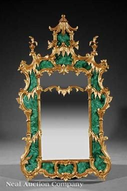 Malachite Mirror Frame