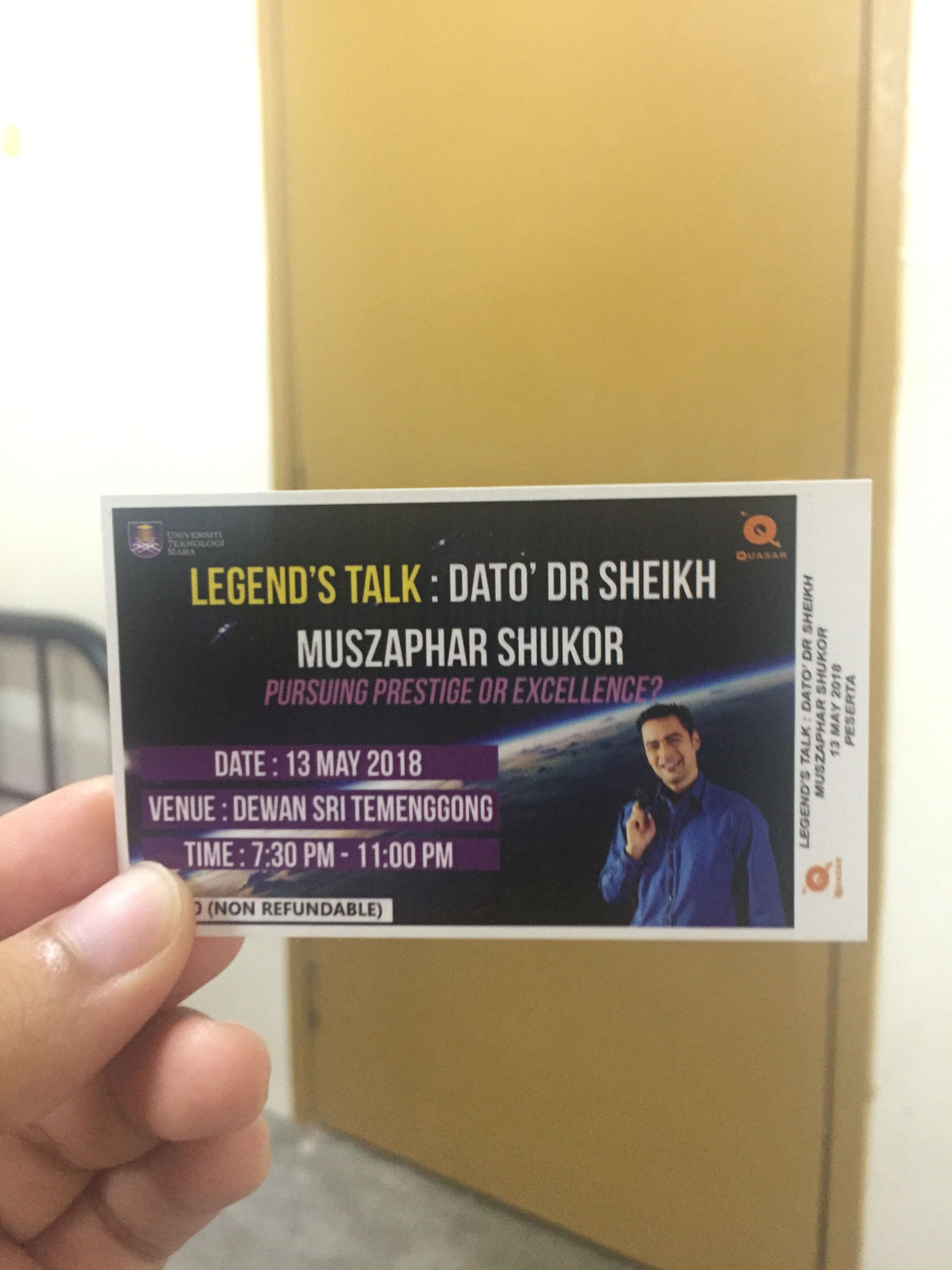 Invitation Event To Meet Our First Angkasawan Malaysia Yyeahh
