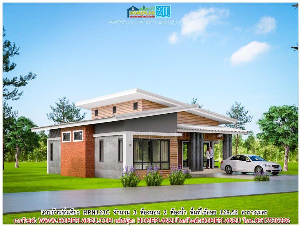 Photos de drawing de style par แบบแปลนบ้านสำเร็จรูป Belle - plan maison terrain pente
