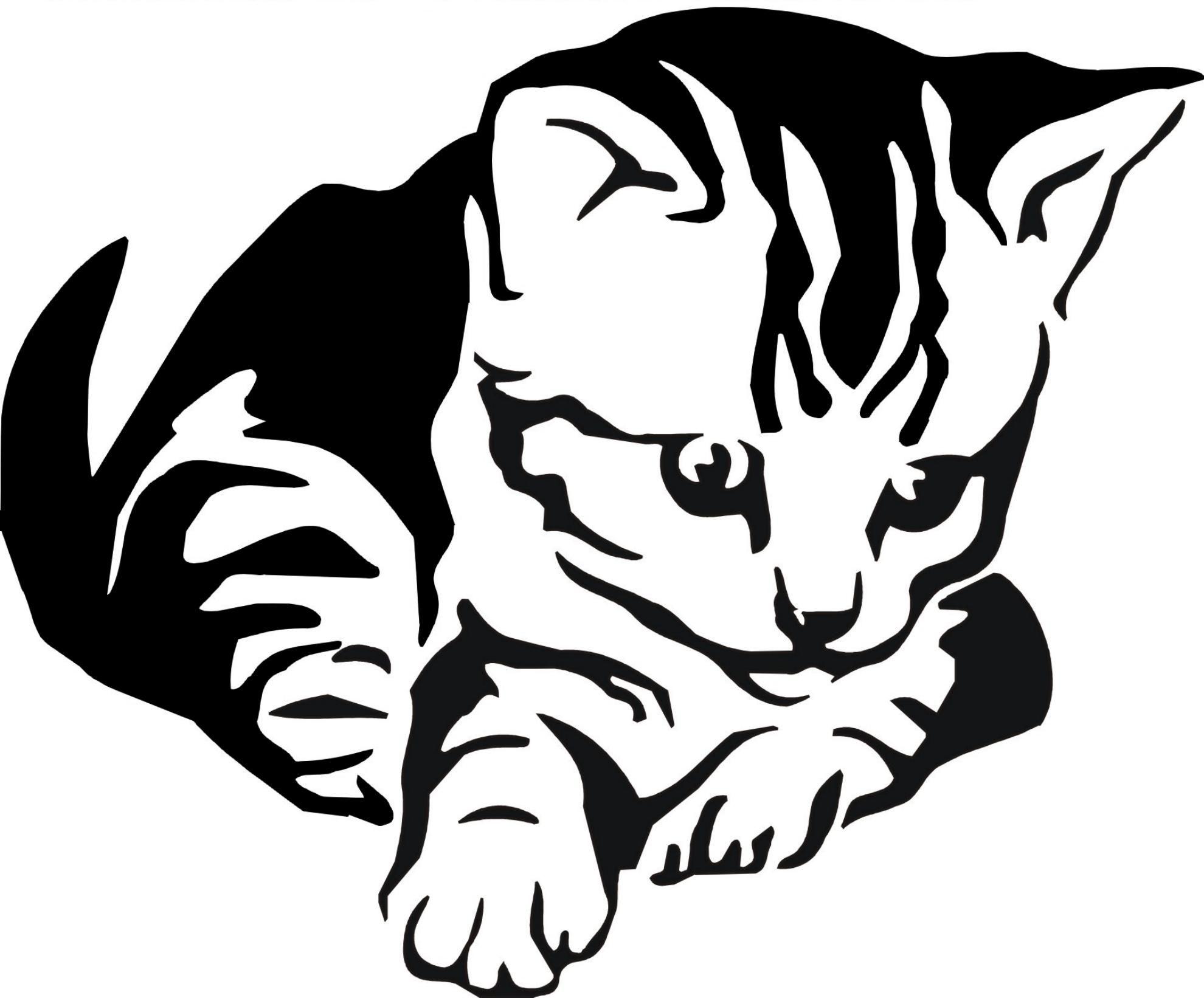 Malvorlage Katze Umriss – tiffanylovesbooks.com