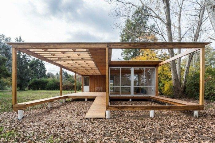 Moderne holzhäuser architektur  idee moderne holzhäuser | Architektur – moderne Häuser und Gebäude ...