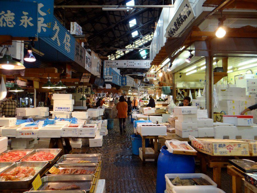 Guide To Tsukiji Fish Market Famous Fish Japan Vacation Tsukiji