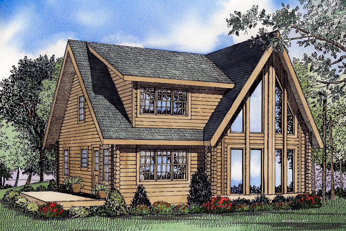 Plan 59046nd Unbelievable Views Home Addition Plans A Frame House Plans Cabin House Plans