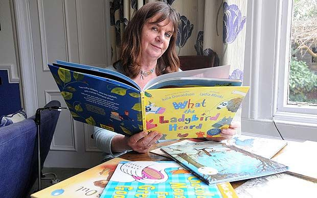 Julia Donaldson outlines her manifesto as the new Children's Laureate.