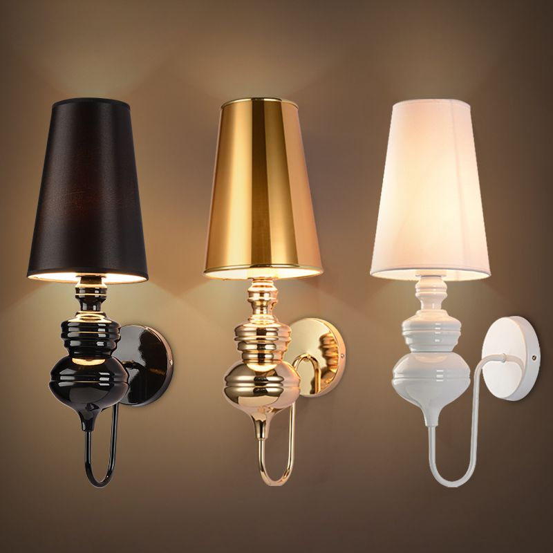 Modern Brief Bedroom Study Wall Lights Simple Bedside Lamp