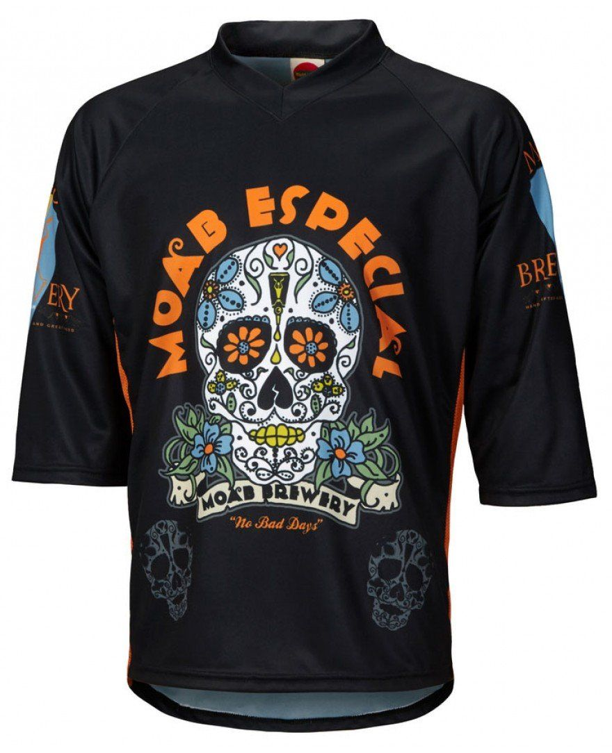 Moab Brewery Especial 3 4 Sleeve Mountain Bike Jersey  4797578a8