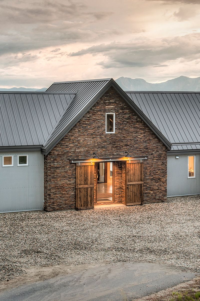 Unique Home Which Offers A Modern Flair With Warm Reclaimed Local Barn  Board Finishing U0026 Custom