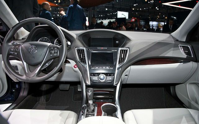 2015 Acura TLX Interior Amazing Design