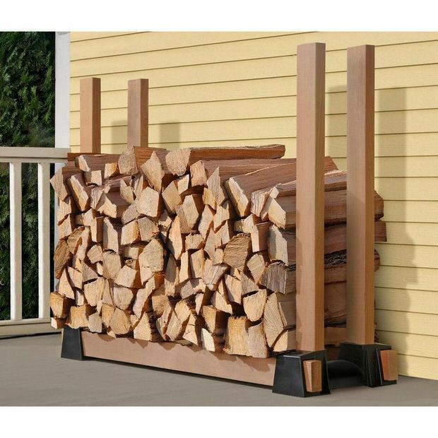9 Simple Diy Ideas For Outdoor Firewood Holder
