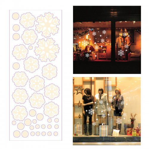 Wholesale Christmas 3d Removable Window Wall Stickers Decor Xmas Home Shop Decorations Af2516 Toy 33034 Sticker Decor Shop Decoration Christmas Wall Decor