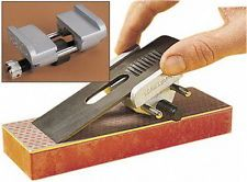 95mm Metal Honing Guide Jig Sharpening Wood Phisels Plane Iron Planers Blades ぴ