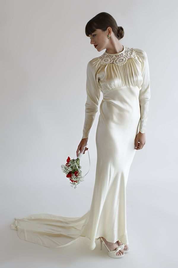 Lillian Gown | 1930s, Gowns and Satin
