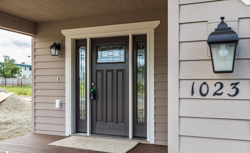 modern craftsman style front doors projects pinterest