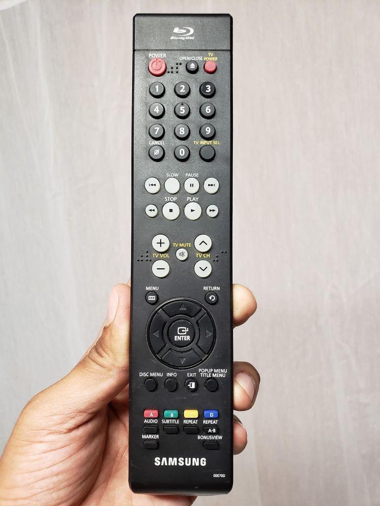 Samsung 00070D Blu-Ray Disc Remote Control Original BDP1500