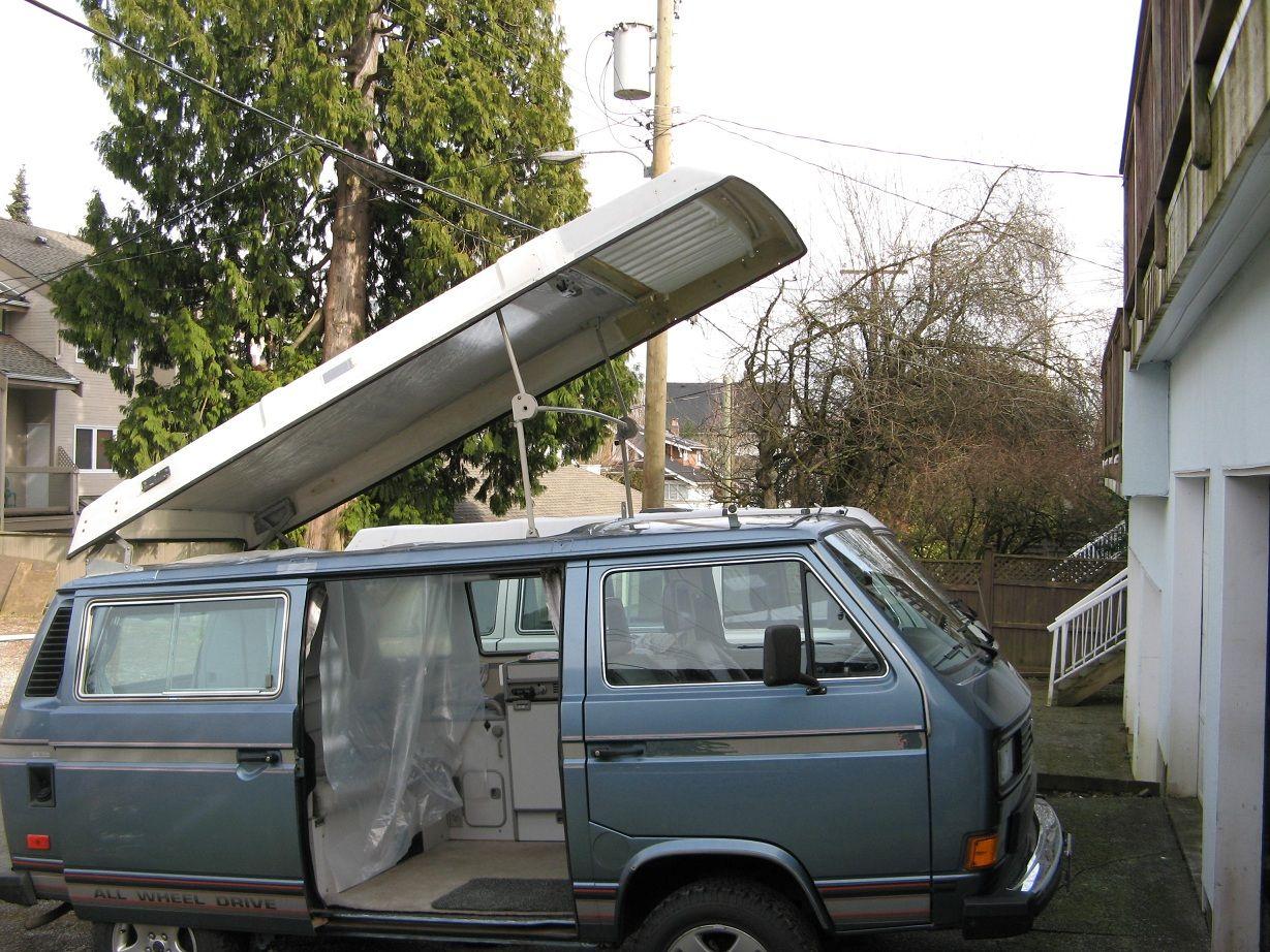 Thesamba Com View Topic Pop Top Extension Evolution Of The Pop Top Vw Syncro Volkswagen Van Life