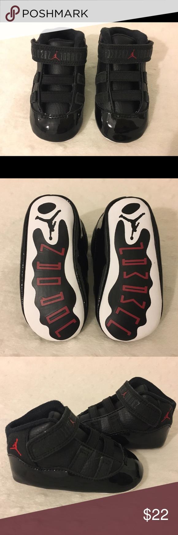the latest bc2f2 b4bc9 Jordan 11 Retro Soft Bottom Infant Crib Sneakers Brand New ...