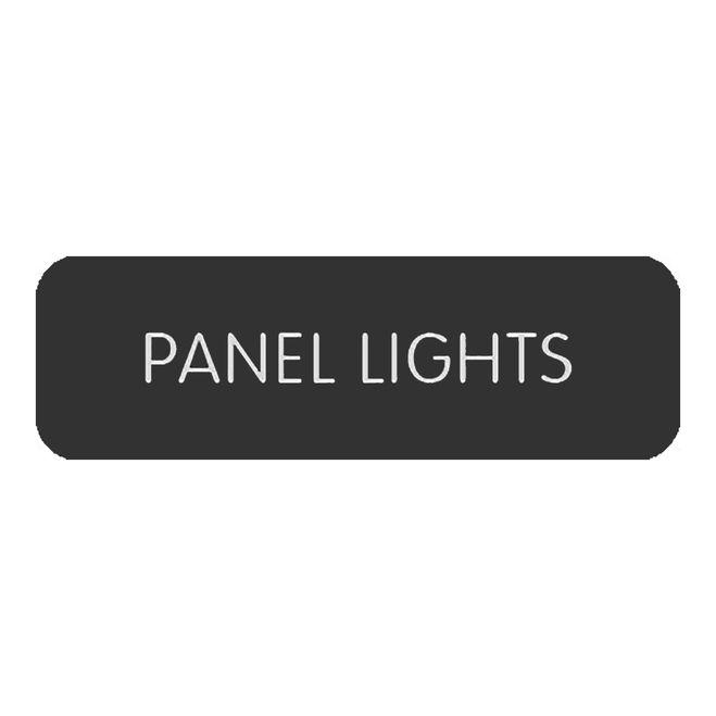 "Blue SeaLarge Format Label - """"Panel Lights"""" [8063-0458]"