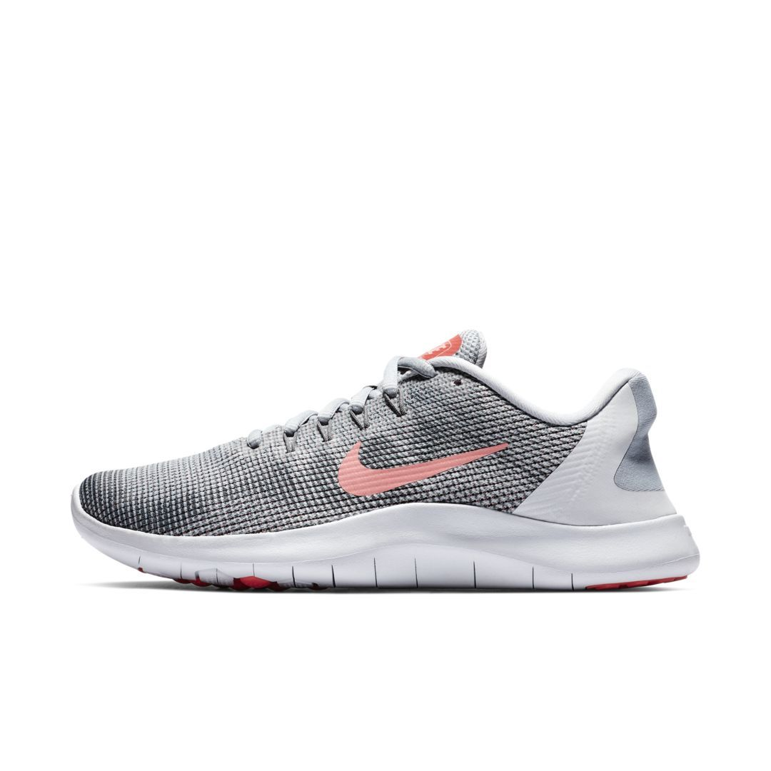 new arrival 29a89 5a0fc Nike Flex RN 2018 Women's Running Shoe Size 10 (Wolf Grey ...