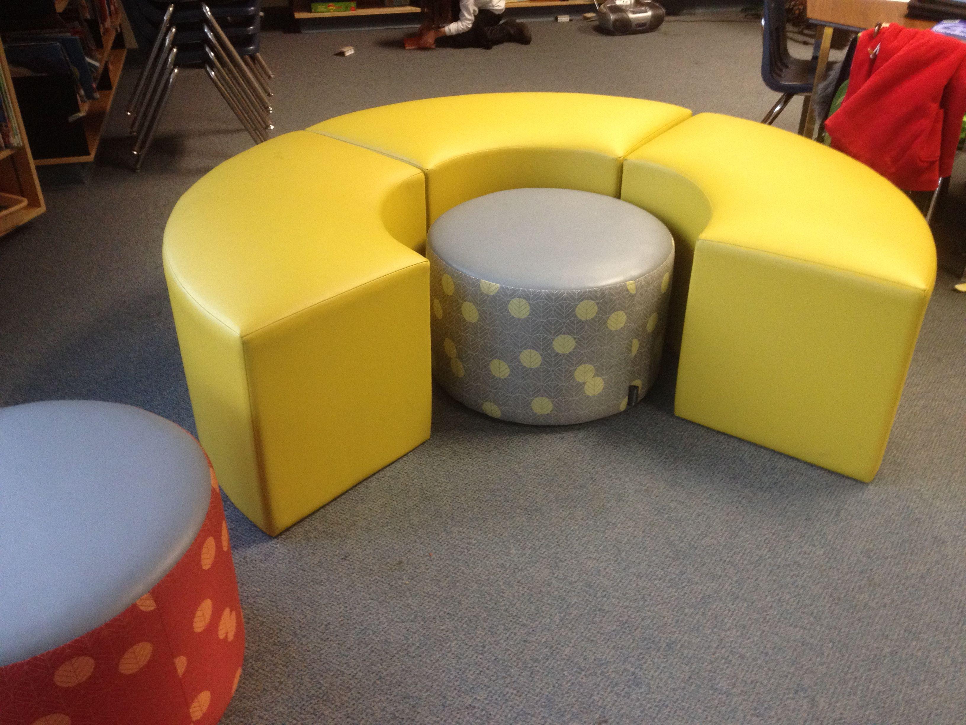 Reconfigurable, wipeable furniture