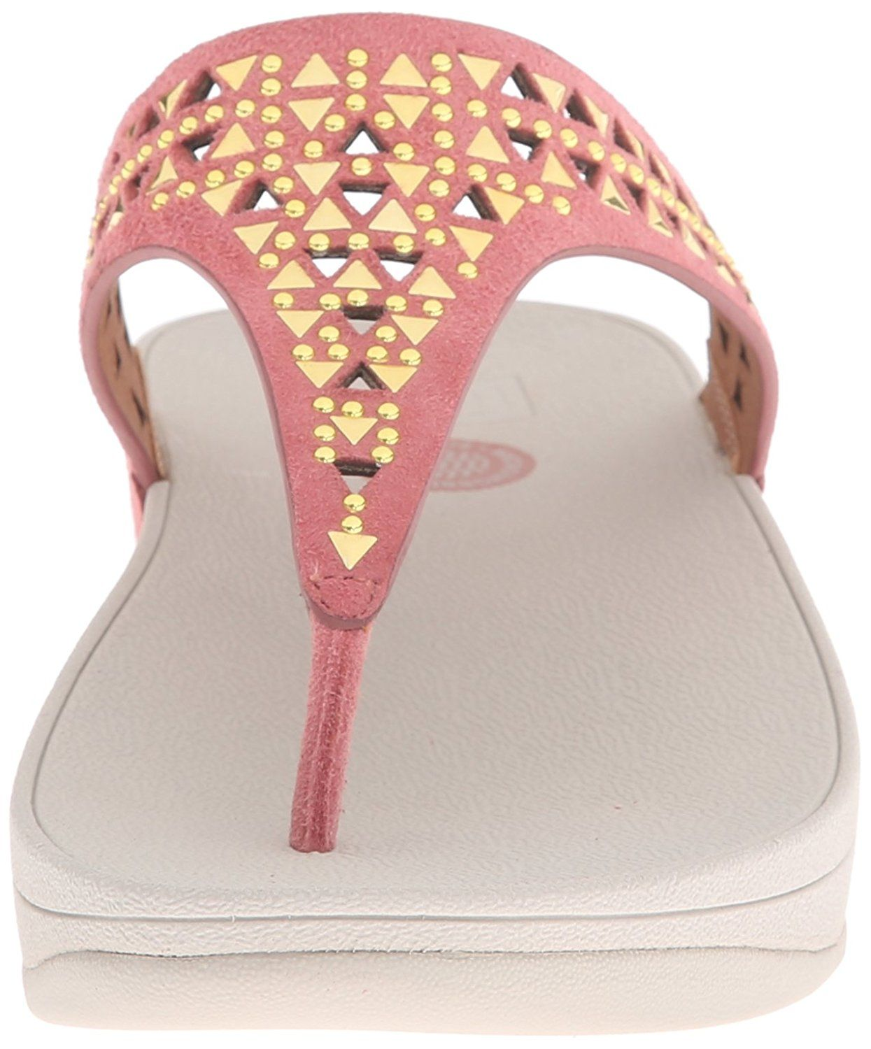 18840e053 FitFlop Women s Carmel Toe-Post Suede Dress Sandal     Check out the image