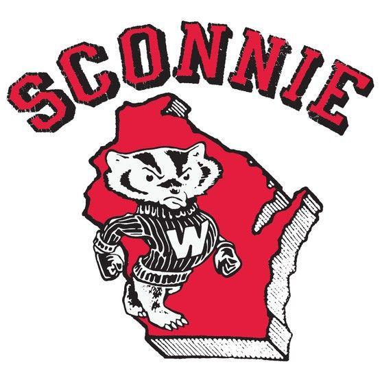Wisconsin Badgers Sconnie Frank Ozmun Graphic Design