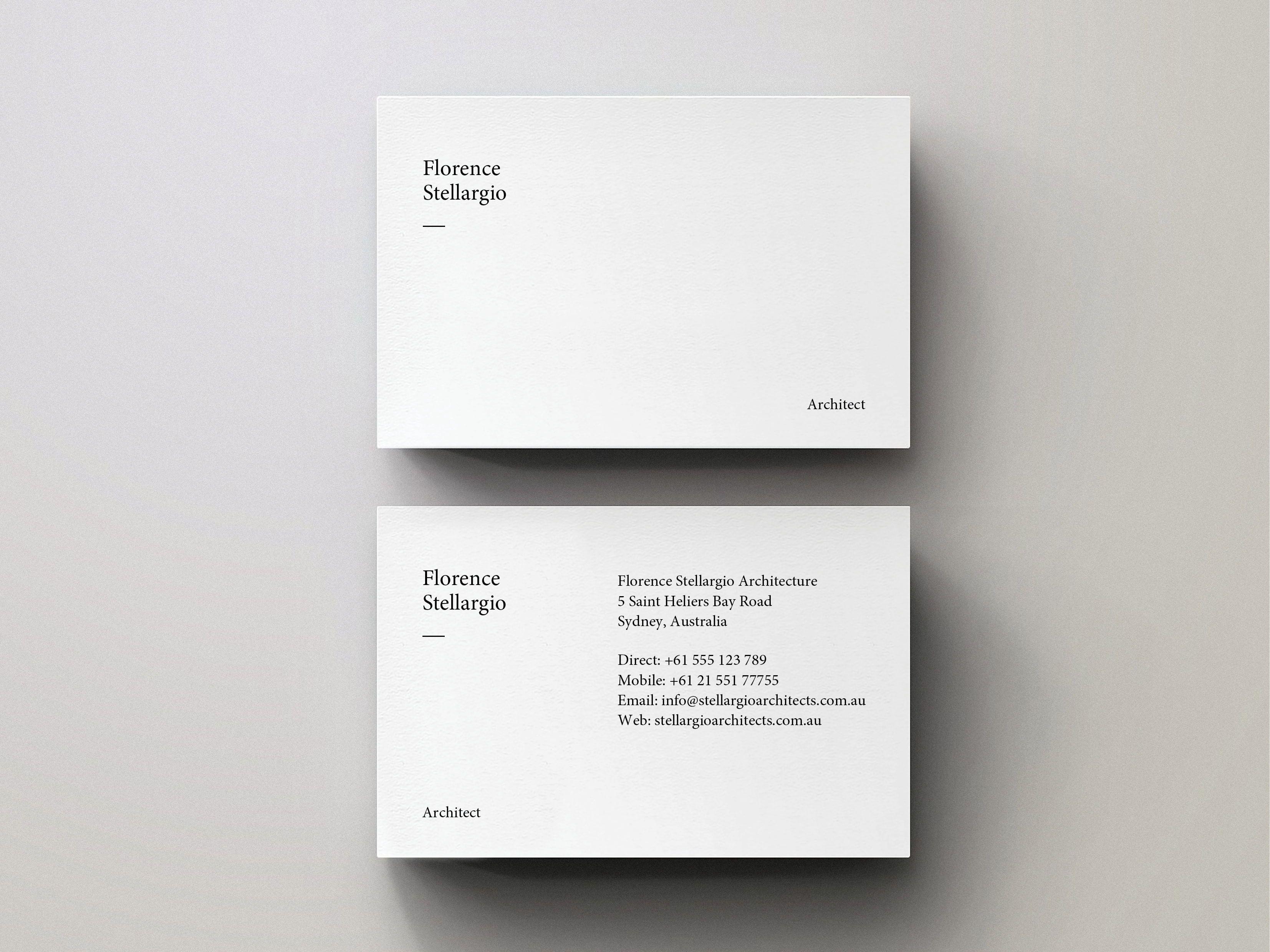 Minimal Business Card Editable Indesign Template Business Card Design Minimal Business Cards Layout Minimal Business Card
