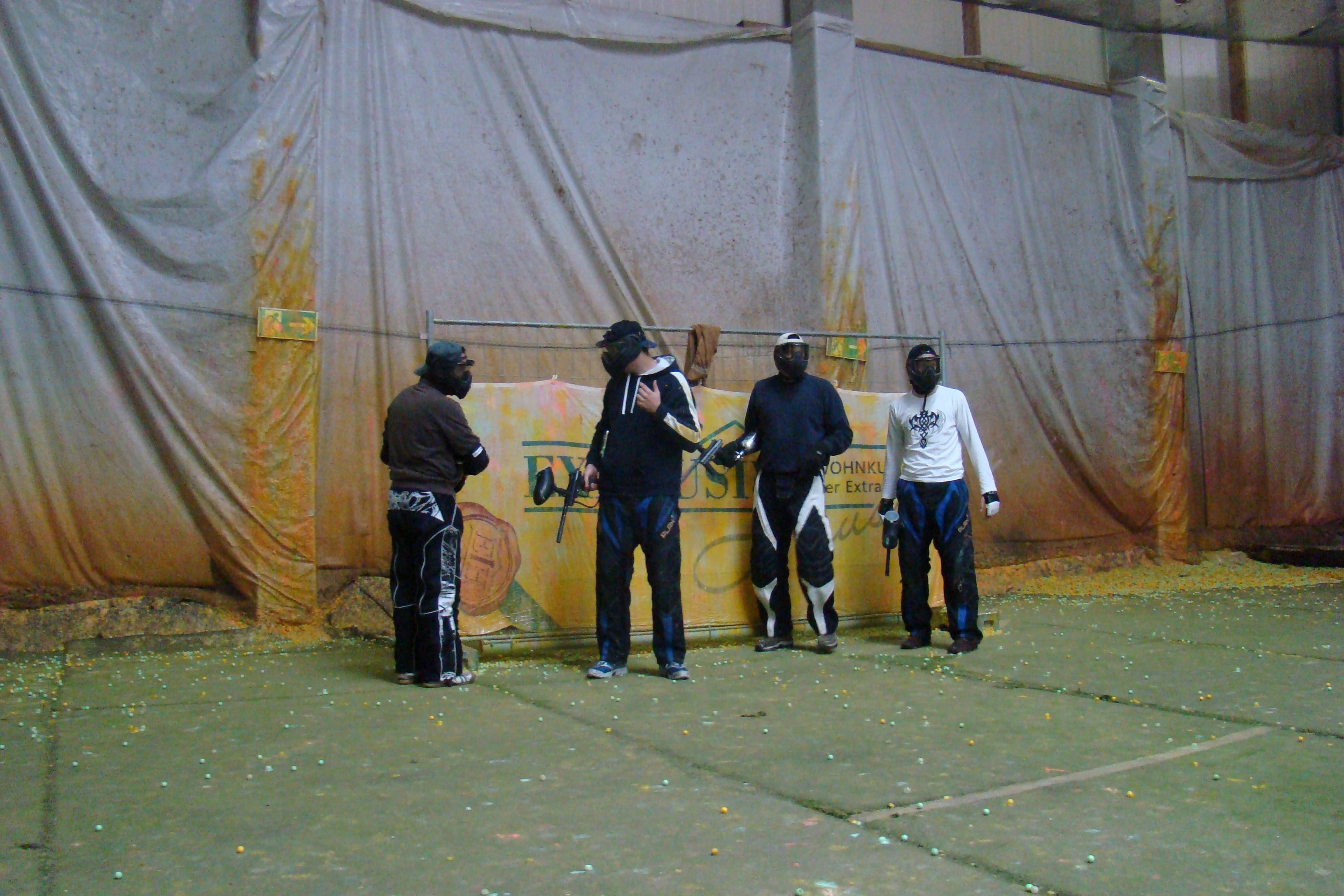 Paintball - Rundenbeginn