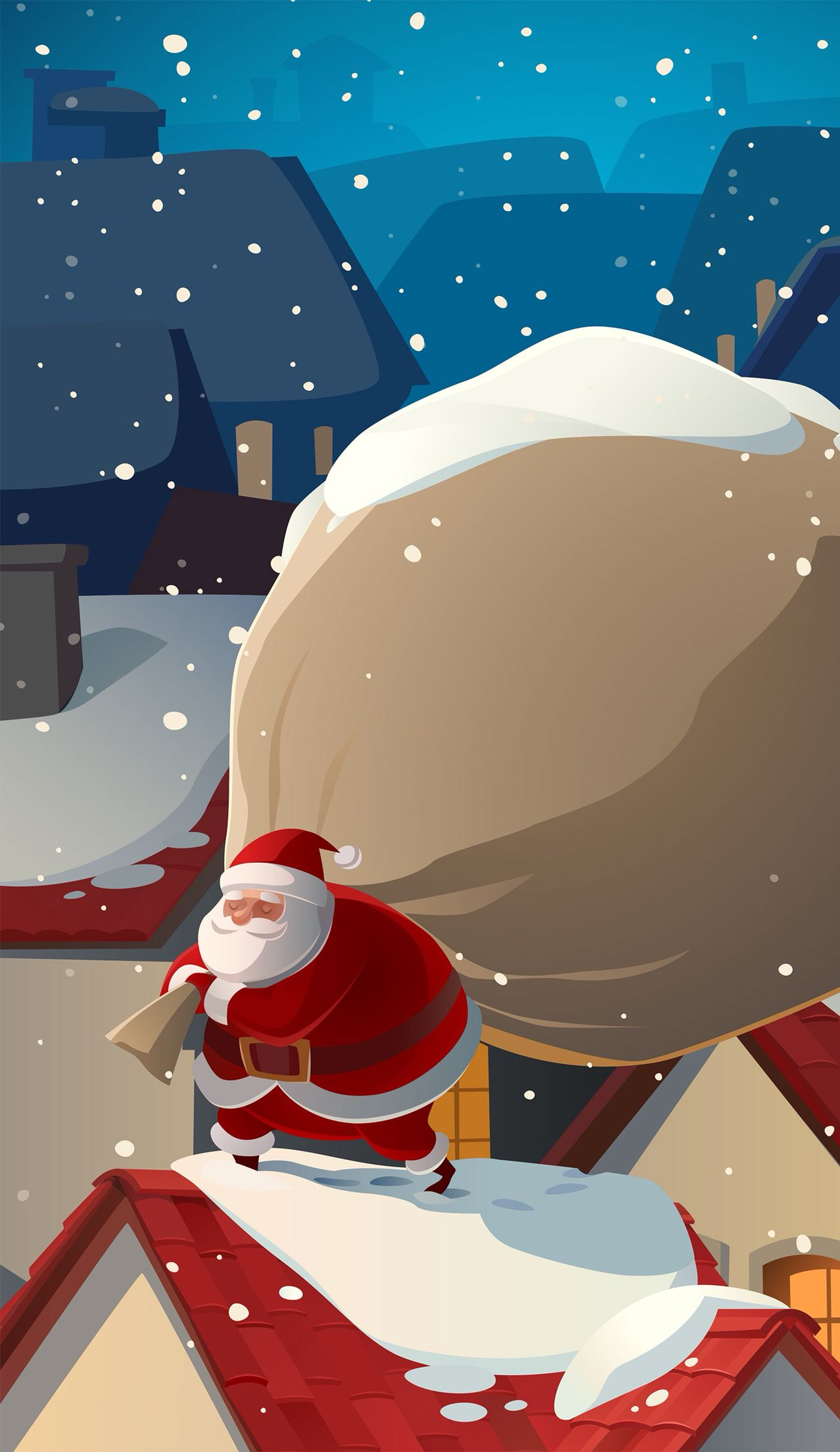 Santa Find More Seasonal Wallpapers For Your IPhone Android Prettywallpaper