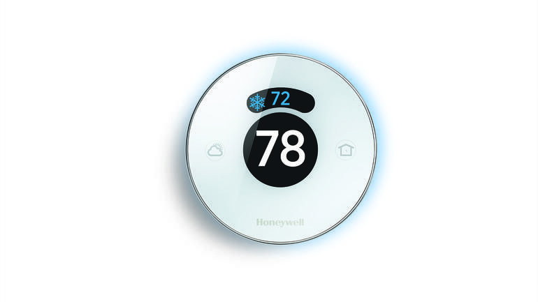 Honeywell lyric thermostat with images thermostat