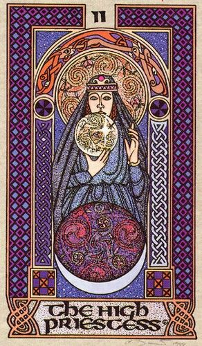 Celtic Tarot: The High Priestess. Never Really Clicked