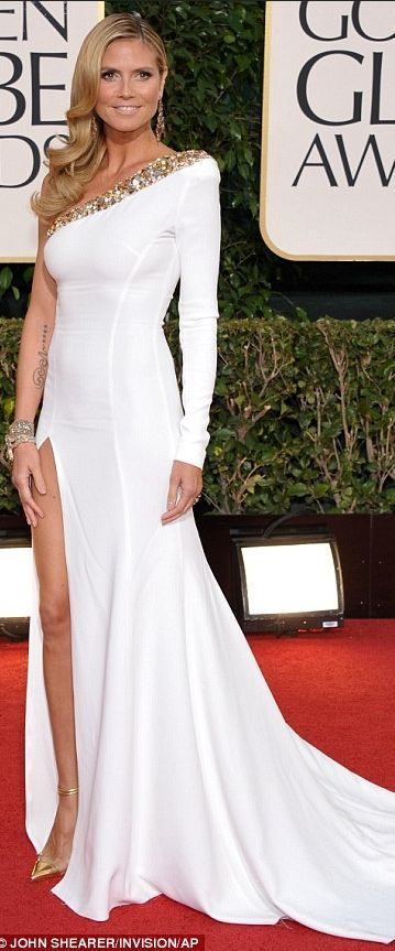 892815b758e Heidi Klum - Alexandre Vauthier Couture Love Heidi   her gown but not the  fit of the shoulder