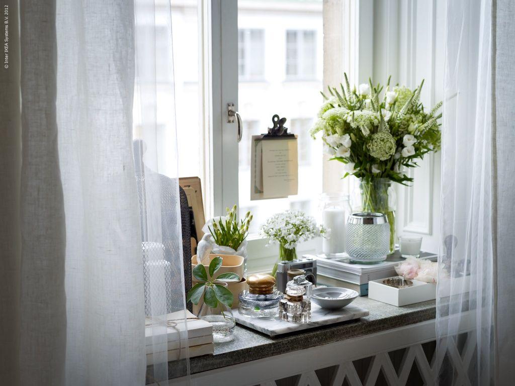 Deko Fensterbank Wohnzimmer ~ Livet hemma fensterbänke dekoration und wohnen