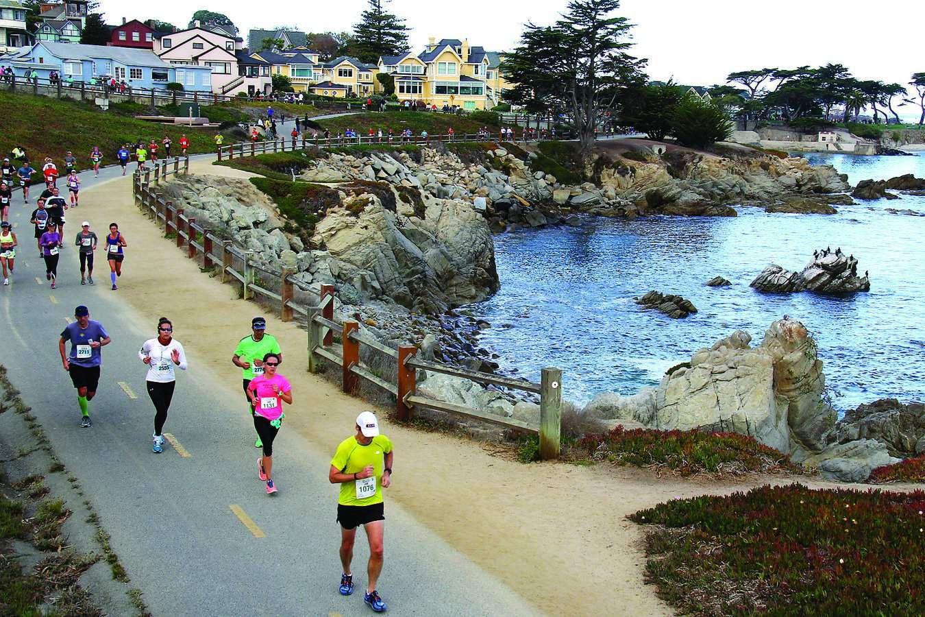 Monterey bay half marathon california camping