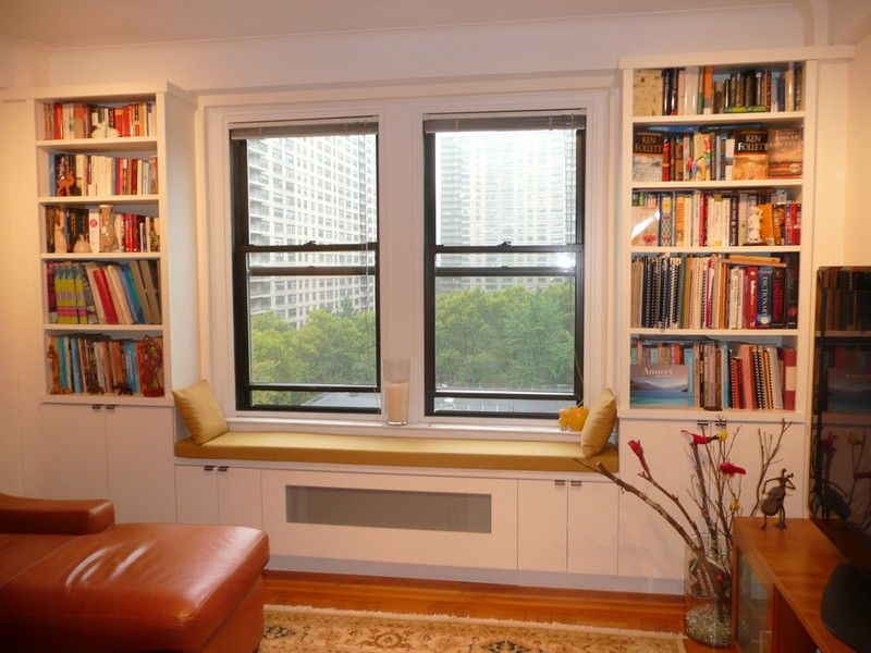 8  RADIATOR COVERS & ENCLOSURES, WINDOW SEATS, WINDOW WALL BOOKCASES, BOOKSHELVES, WALL UNITS & CABINETS CUSTOM BUILT IN NYC NEW YORK CITY MANHATTAN NY